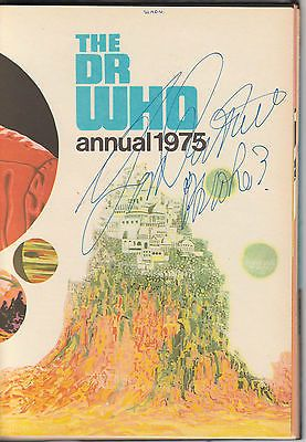 Signed by jon #pertwee. dr doctor who #annual 1975. #unclipped price tag.,  View more on the LINK: http://www.zeppy.io/product/gb/2/182029073372/