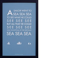 A sailor went to sea sea sea by Hooper & Shaw