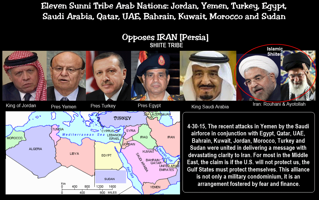 4 30 15 aim org middle east kings to form nato like coalition vs iran kings of north south vs persia iran daniel 11 5 6 it is an endgame to pool