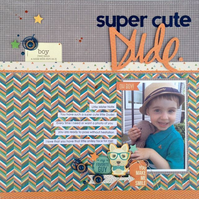 Super Cute Dude - Kristine Davidson