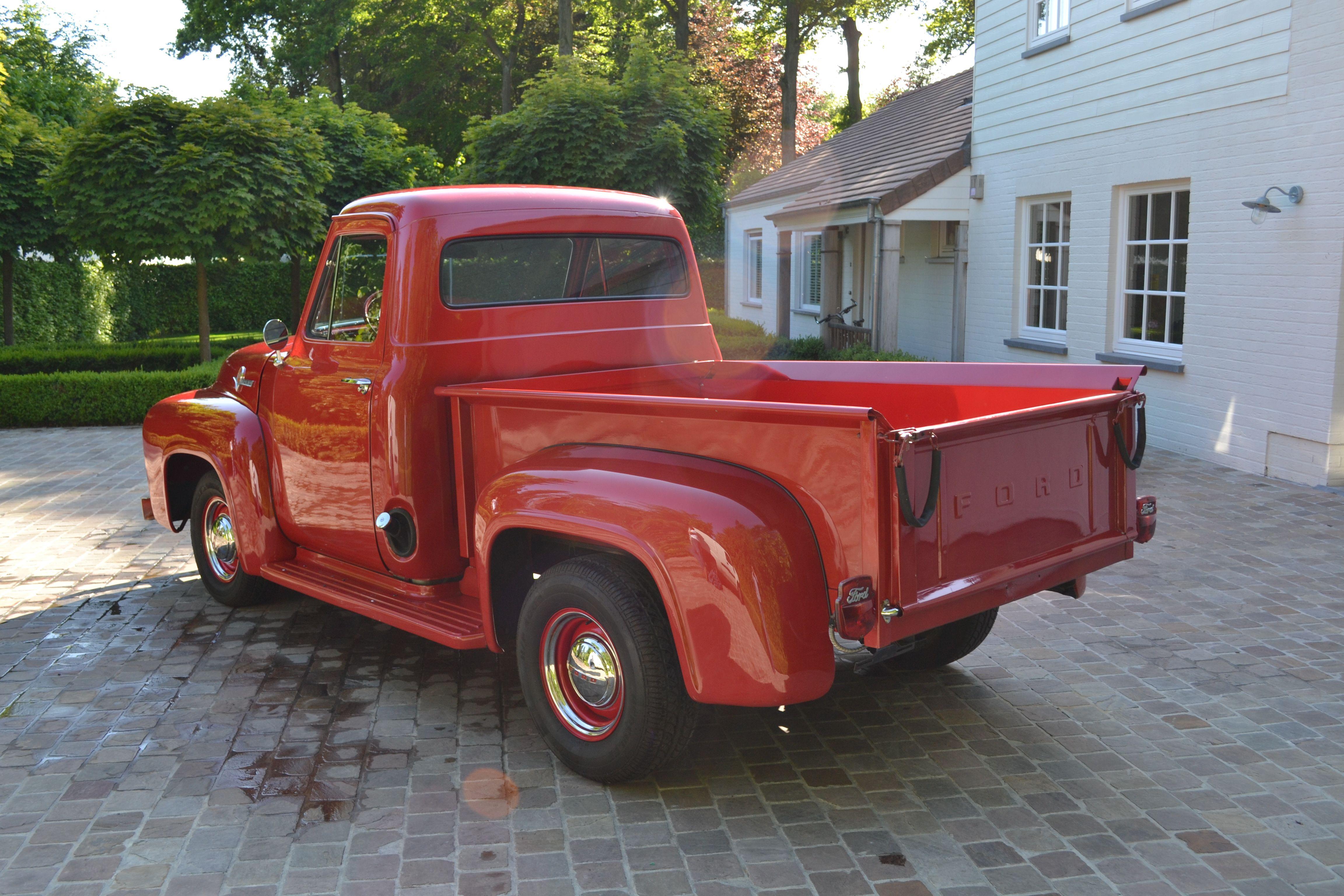 1954 Ford F100 Pick Up V8 F 100 40s 50s Pinterest Pickup Truck