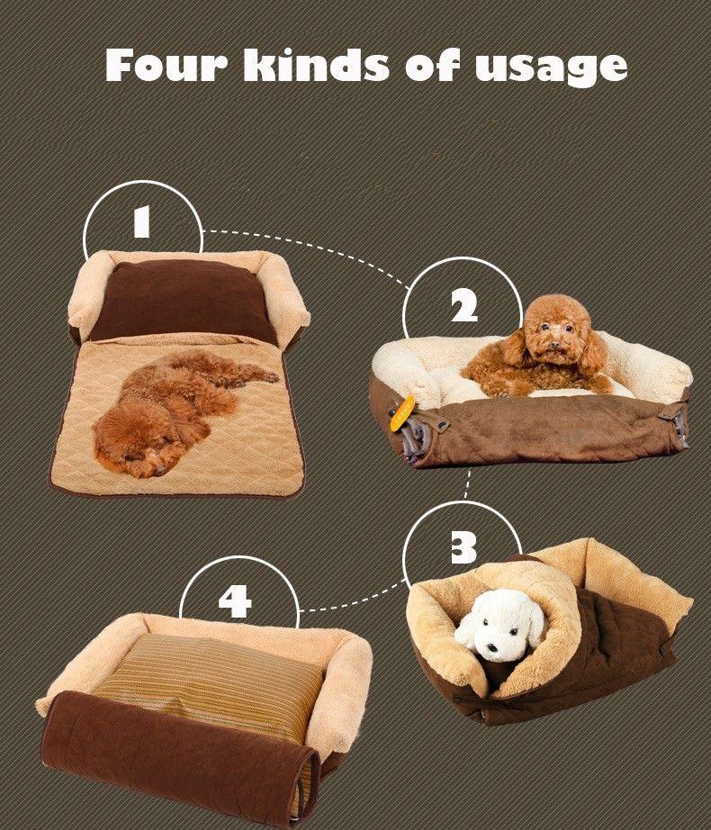 Divano cane gatto delicatamente calda animale domestico for Recinti per cuccioli di cane in casa