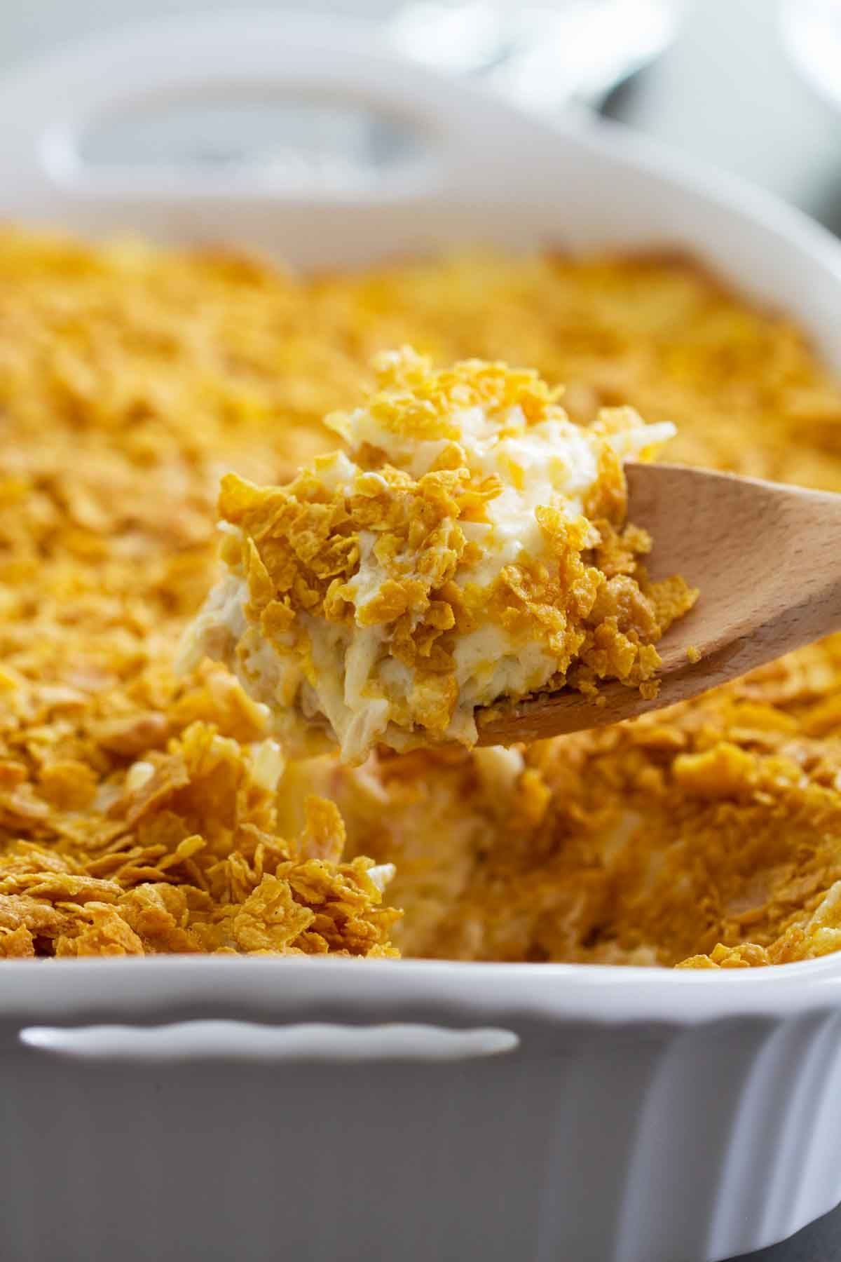 Funeral Potatoes Recipe + VIDEO - Taste and Tell