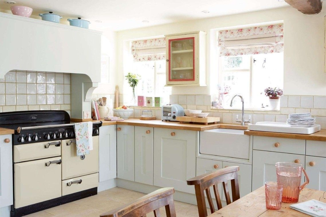 Marvellous Design Ideas Of English Country Kitchen Cabinets With ...