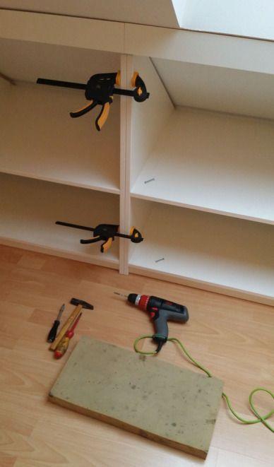 selbstgebauter einbauschrank bauen einbauschrank. Black Bedroom Furniture Sets. Home Design Ideas