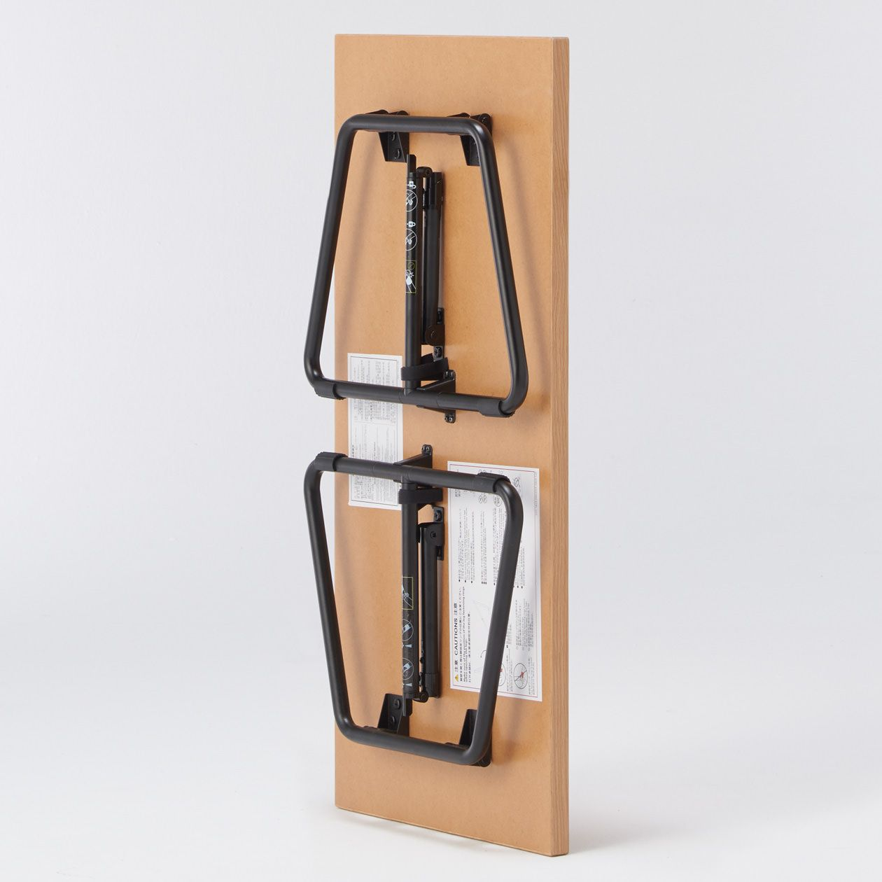 折りたたみローテーブル 幅90cm オーク材幅90 奥行45 高さ