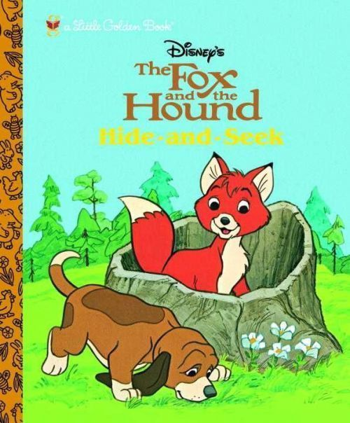 NEW The Fox and the Hound: Hide and Seek by Golden Books Hardcover Book