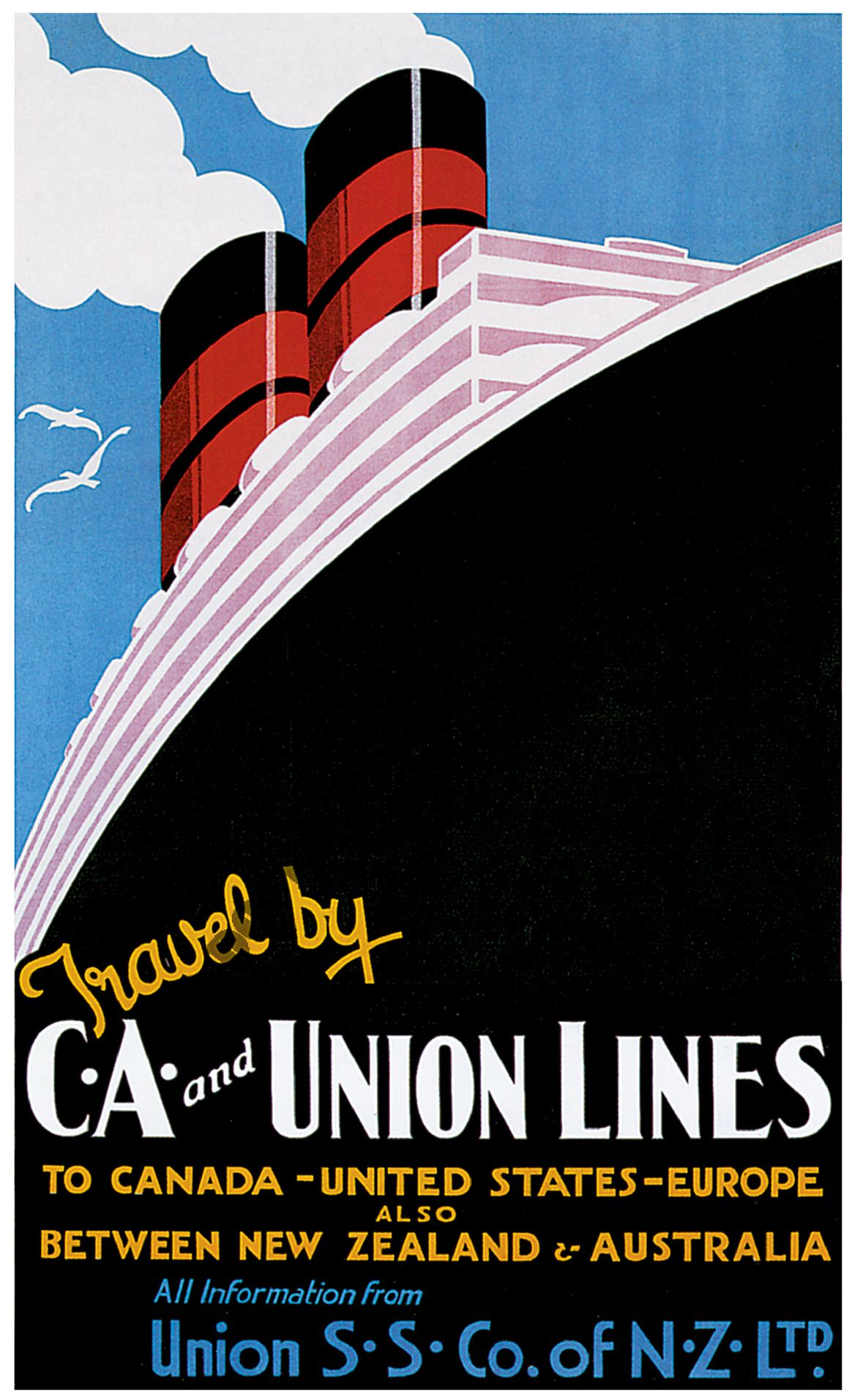Travel Posters, Vintage Posters, Cruises, Boating, Ship, Vintage Boats, Retro