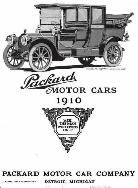 History Of The American Automobile Industry Chapter 4 Packard