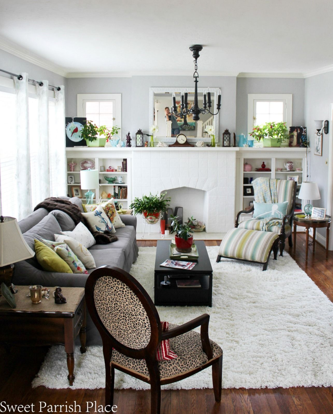 97 Year Old Home Tour Living Room Diy Home Decor Pinterest