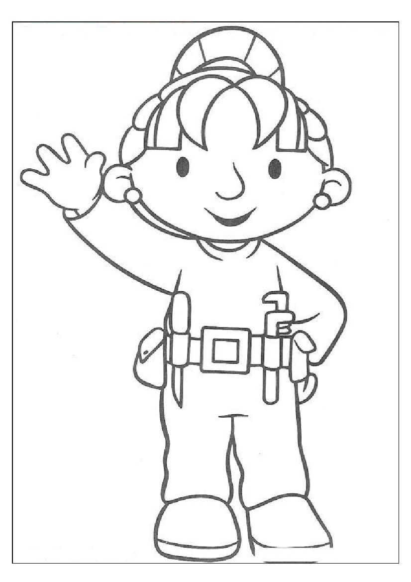 Bob the Builder Partner Wendy Coloring Sheets | birthday party ...
