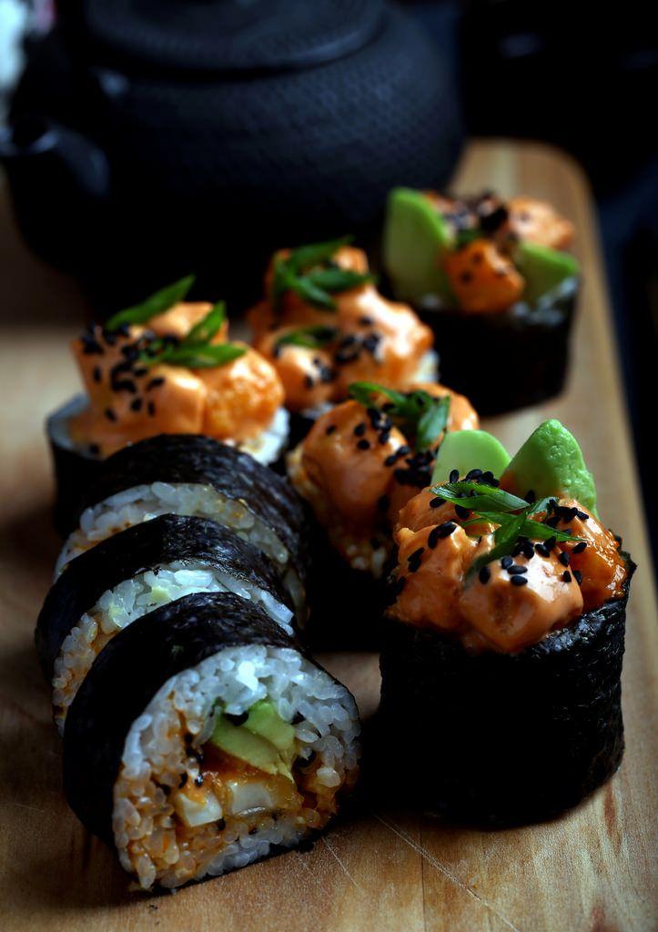 Vegane Dynamitröllchen   – Vegan recipes