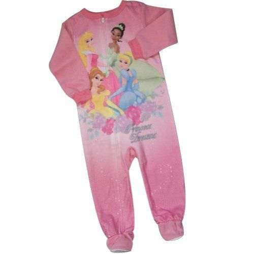 Disney Princess Dreams Infant Girls Footed Blanket Sleeper PJ Size ... d0c225a7a