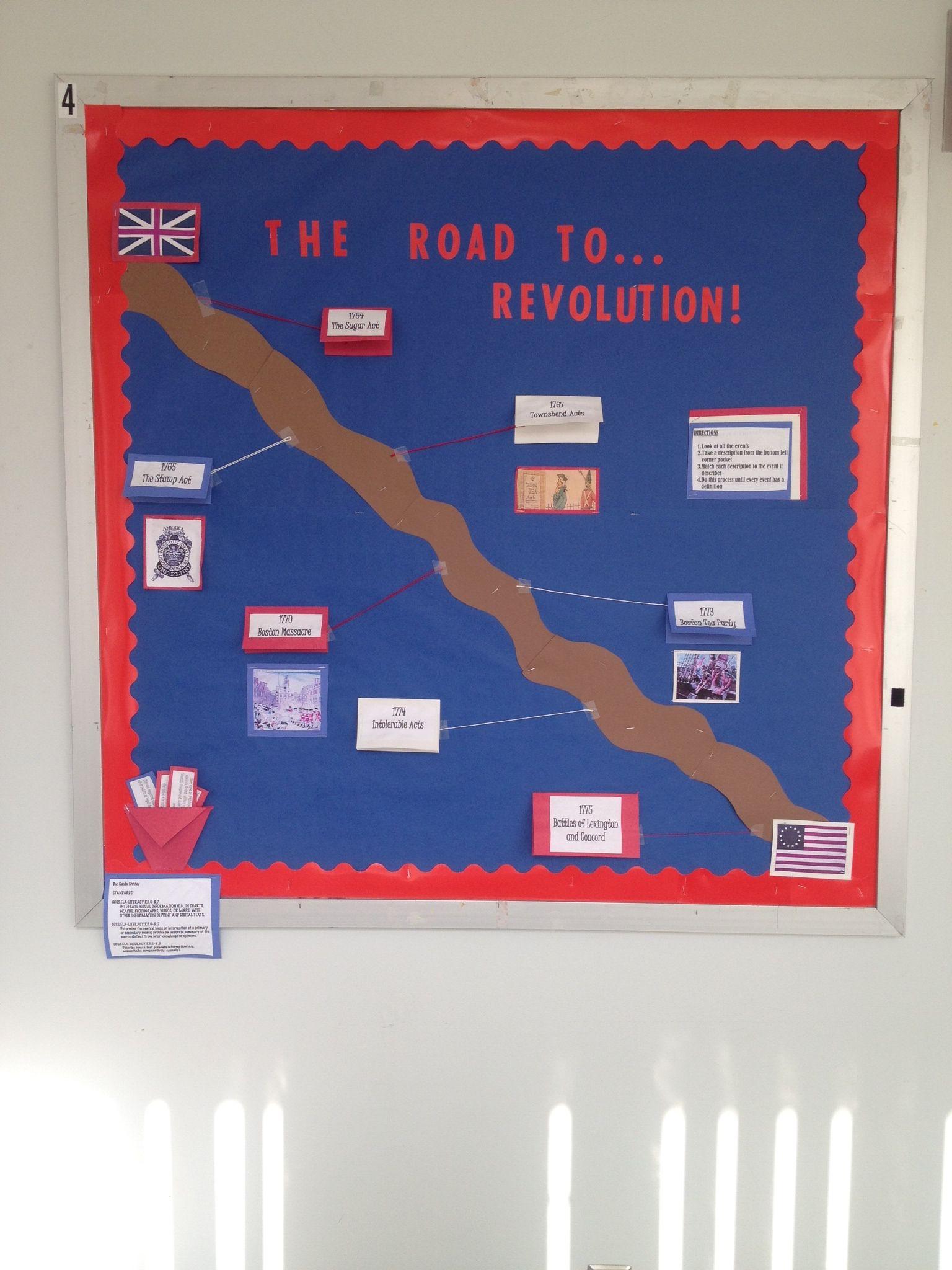 Road To Revolution Bulletin Board