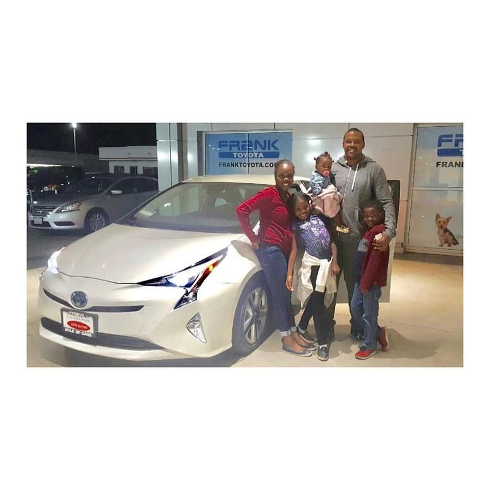 Congratulations to the filer family on their brand new frank toyota prius just in time