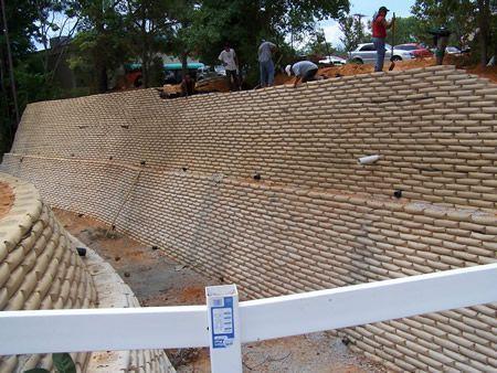 Mas De 1000 Ideas Sobre Muros De Landscaping Retaining Walls Landscaping On A Hill Concrete Bags