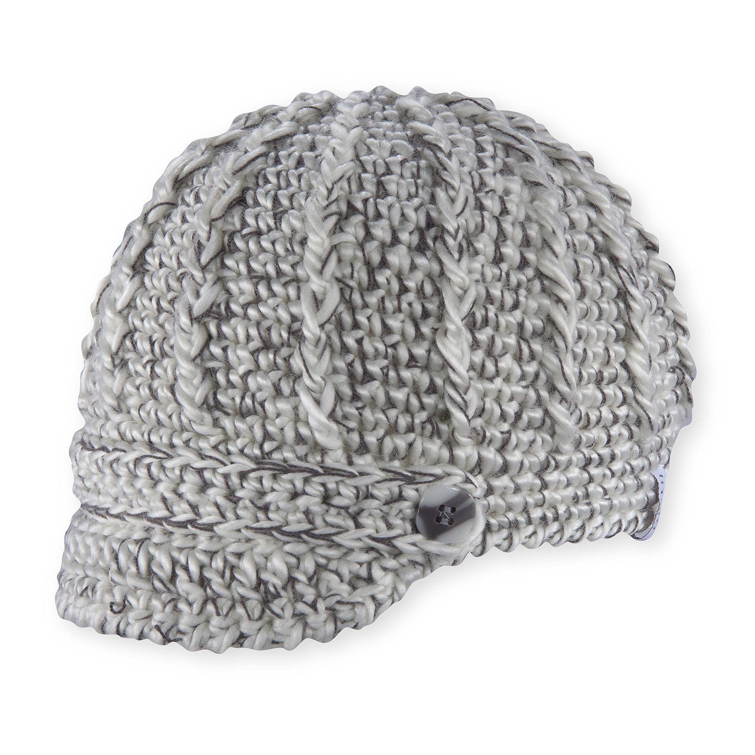 99822a30dfd Pistil Women s Clara Knit Brimmed Beanie Hat. Soft chunky yarn with  contrast threads. Hand