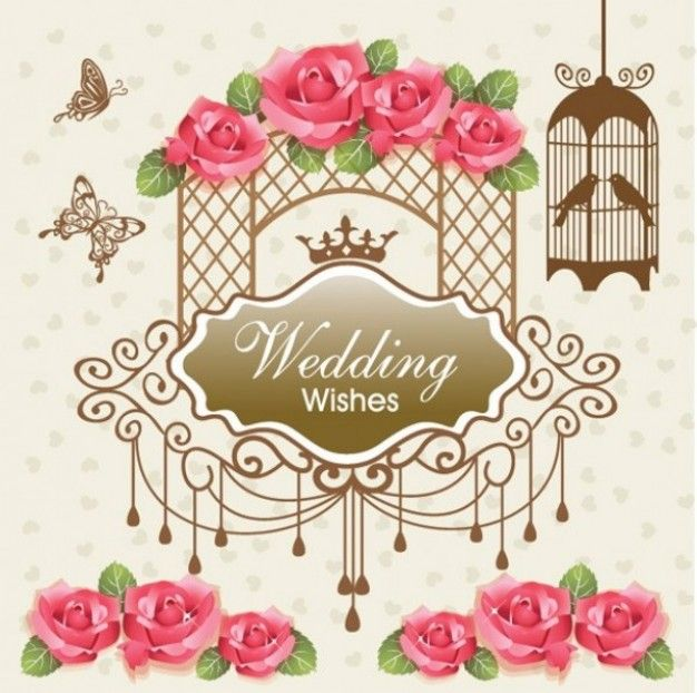 Freepik Graphic Resources For Everyone Vintage Wedding Cards Wedding Card Design Wedding Cards