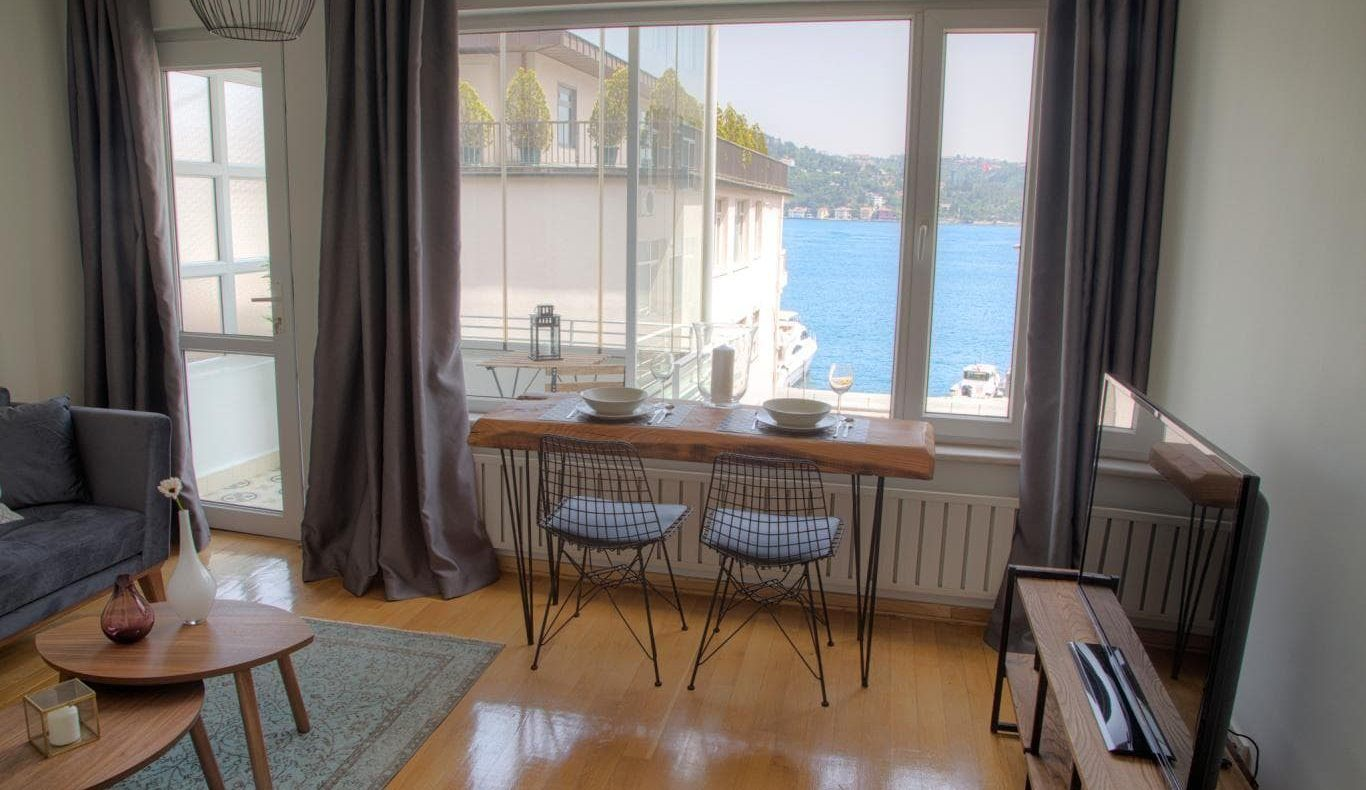 Bosphorus View 2 Bedroom Apartment For Rent In Istanbul Apartment View Apartments For Rent 2 Bedroom Apartment