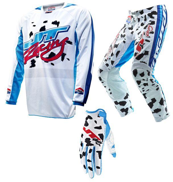 JT Racing - 2013 Dalmatian Jersey, Pant Combo (Limited