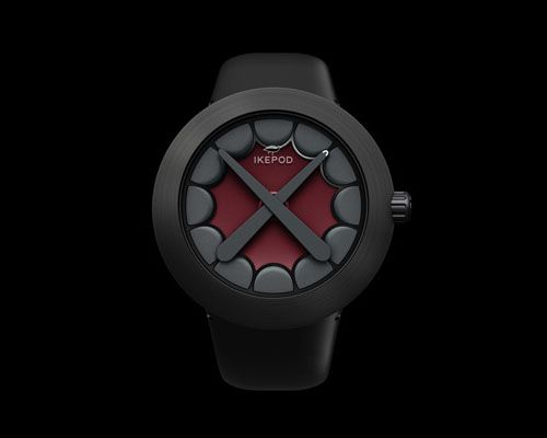 Ikepod Horizon Wristwatch by KAWS