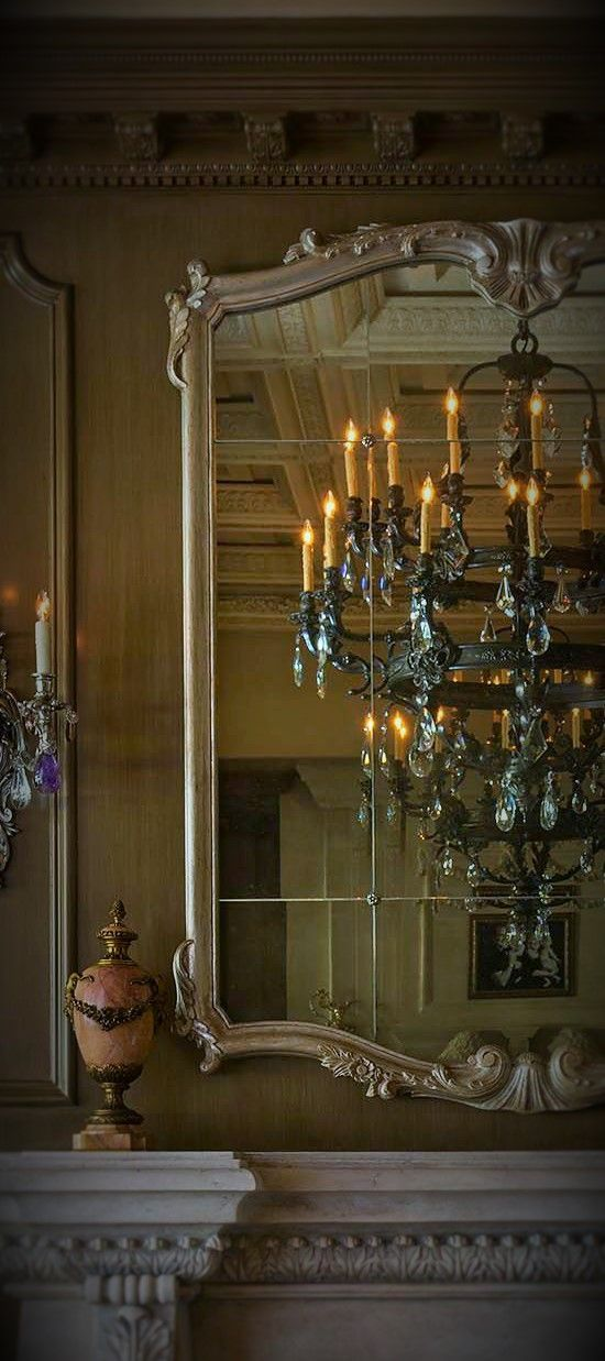 This ivy house wall panels pinterest chandeliers mirror mirror and chandelier mozeypictures Gallery