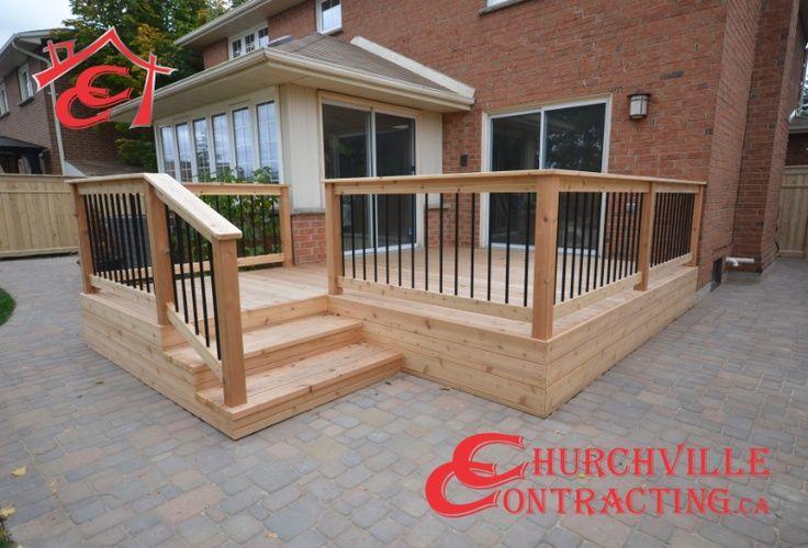 Horizontal Deck Skirting Simple Cedar Deck With Horizontal Skirt