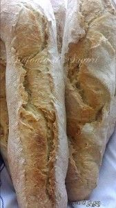 Un pane facile da fare ! Baguettes senza impasto No-knead baguettes  Per la ricetta: http://blog.alice.tv/sinfoniadisapori/2013/09/24/baguettes-senza-impasto/