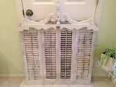 Photo of Vintage Inspiration Party # 199 Repurposed Shutters French Ledger Tagger & mer! # …