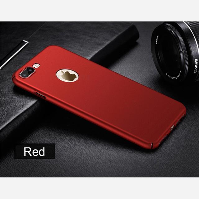 iphone 6s case red plastic