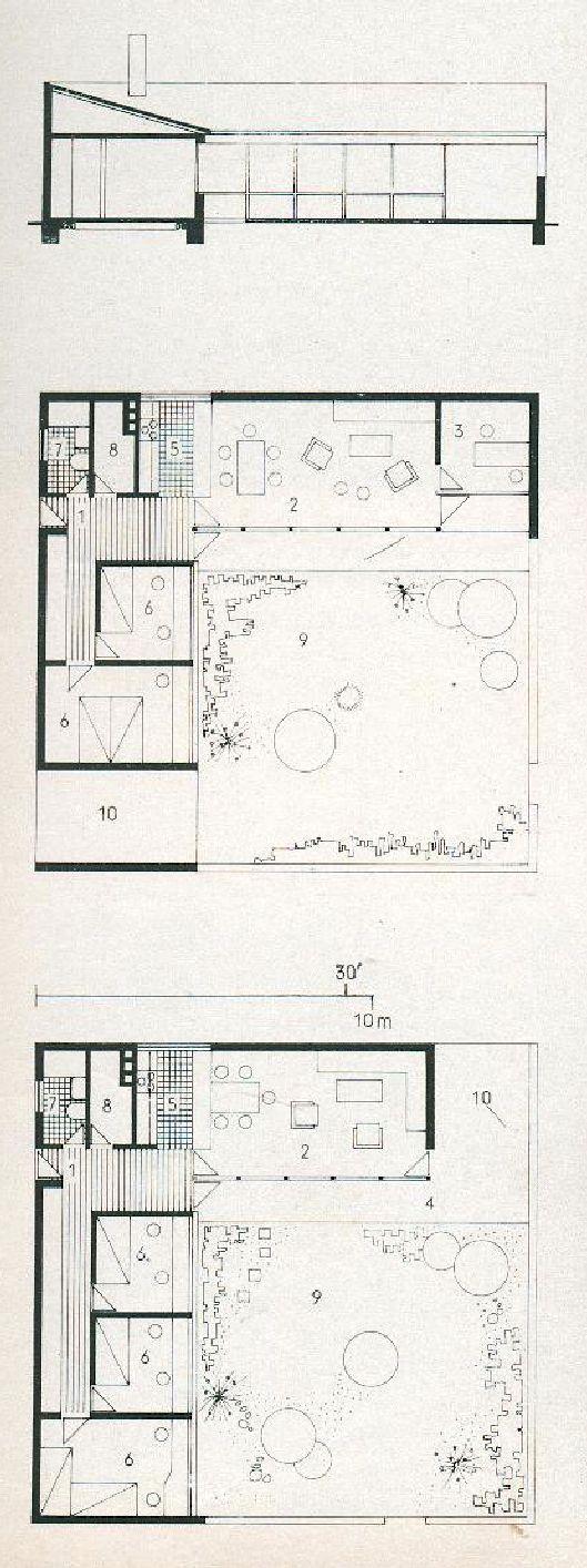 Jorn Utzon Kingo Houses Architecture Plan Architecture House How To Plan