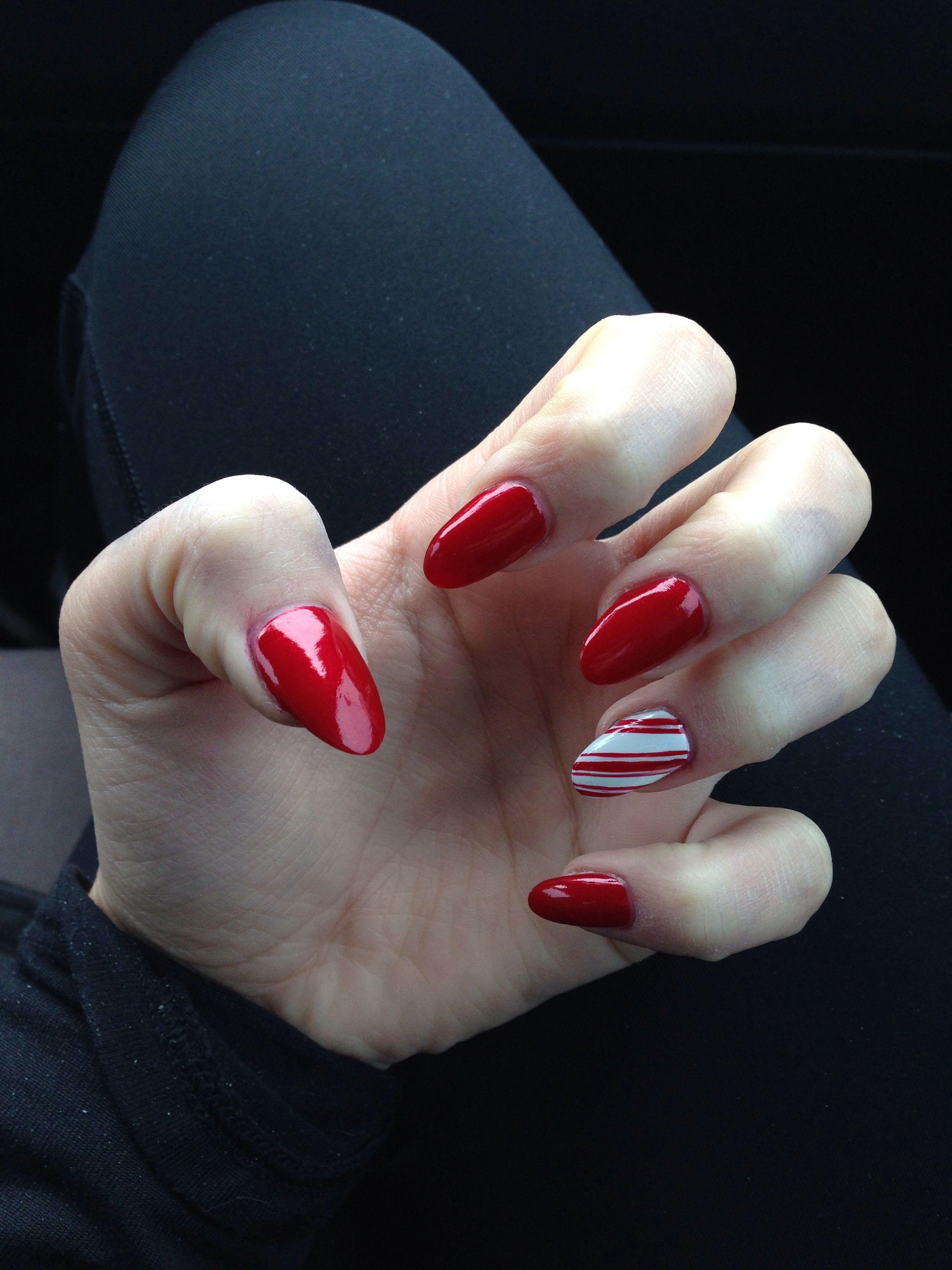 Christmas nails | Nail Ideas | Pinterest