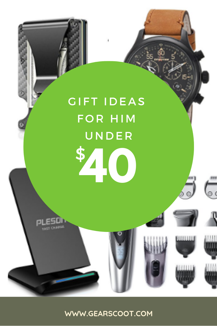 Find The Perfect Gift For Him Under 40 Shop Our Favorite Affordable Gifts Men On Gearscoot Now Giftideas Giftsforhim Affordablegifts