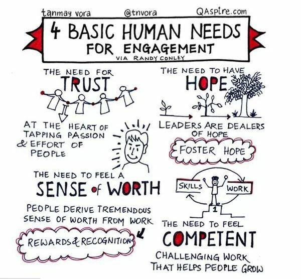 4 Basic Human Needs For En Ement