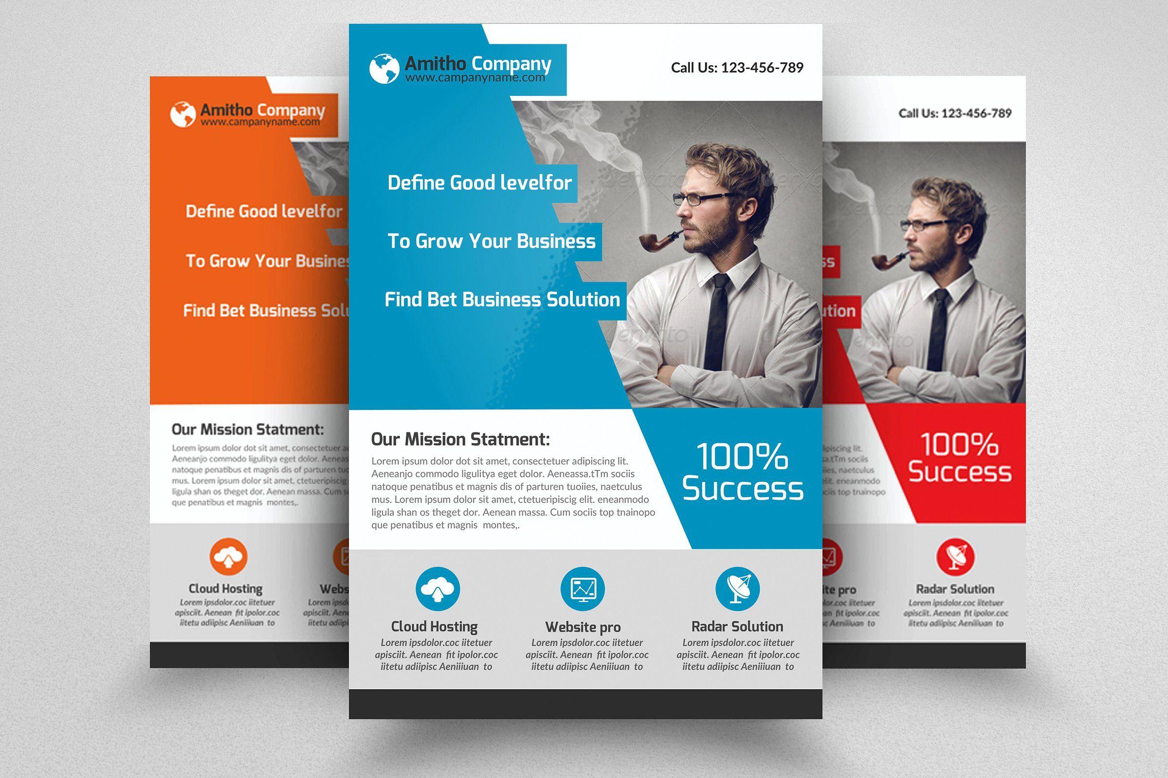Creative Business Flyer Template Business Flyer Templates Make A Flyer Business Flyer