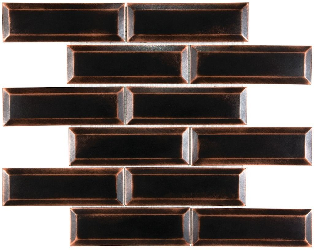 Satin Metal 2 X 6 Beveled Oil Rubbed Bronze On Sale