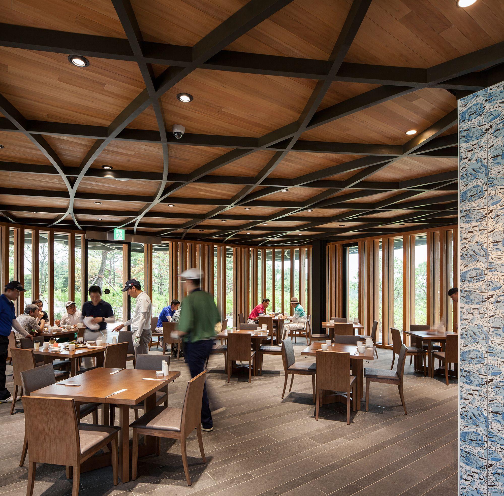 Mecanoo Architects, Taekwang Country Club Café, Gyeonggi-do, Fotograf: Harry Cock