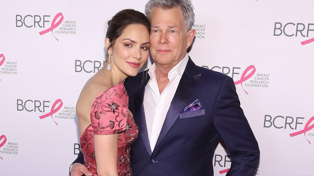 Katharine Mcphee Parties In Mykonos Ahead Of David Foster Wedding Katharine Mcphee The Fosters Couples Poses For Pictures