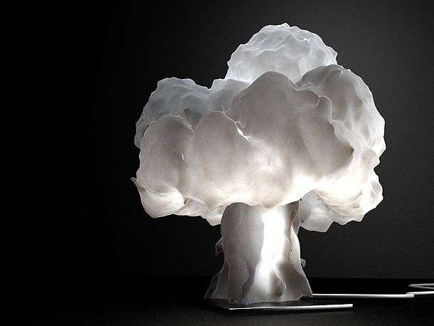 The incredible and unique table lamp Nuke Artists that inspire