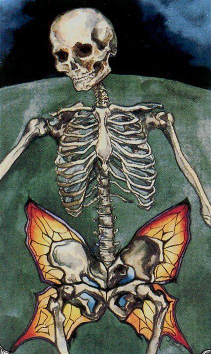 Image result for Hudes tarot Death XIII