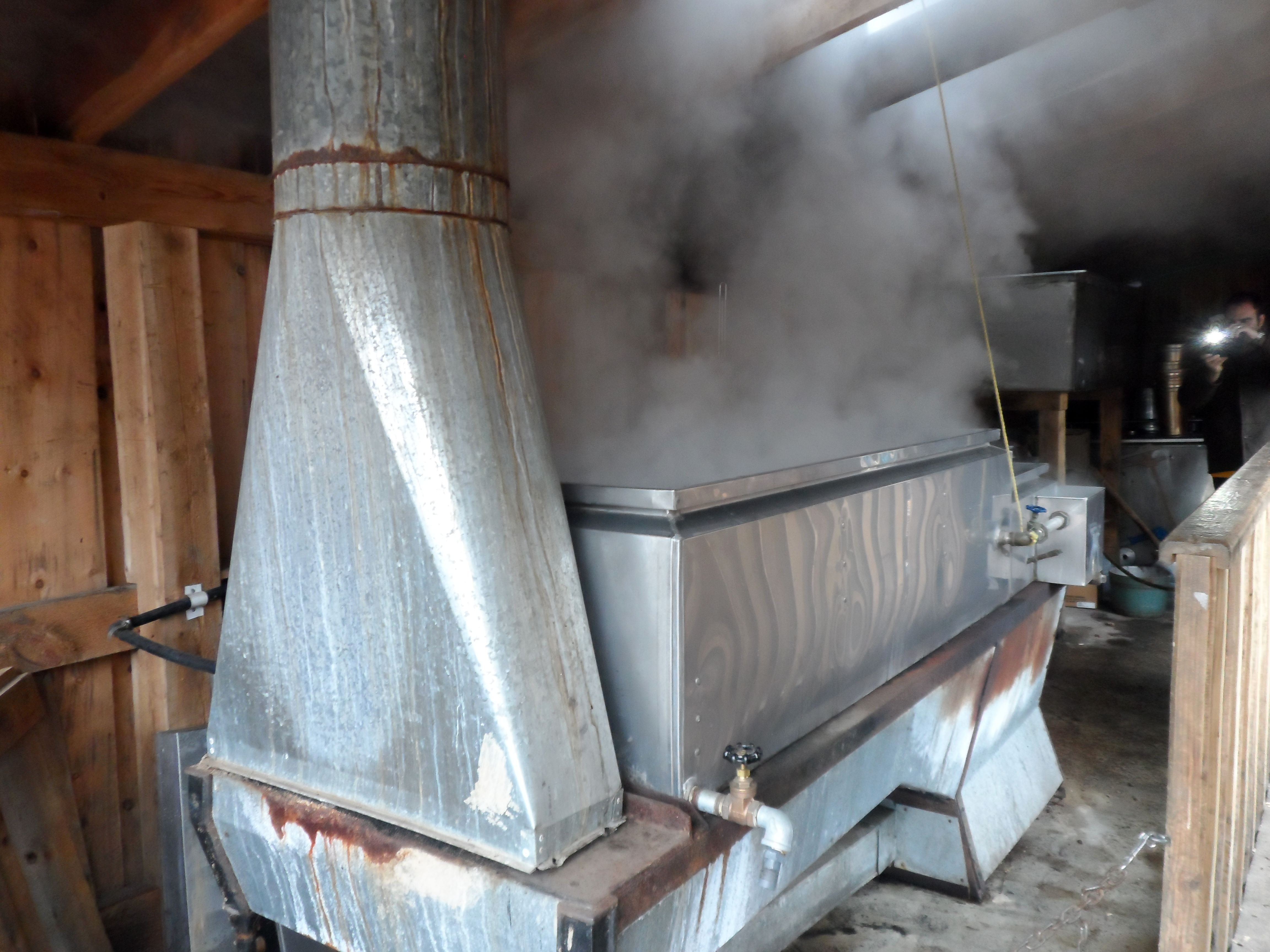 The Sweet Smell Of Wood Smoke And Boiling Sap Just So Canadian