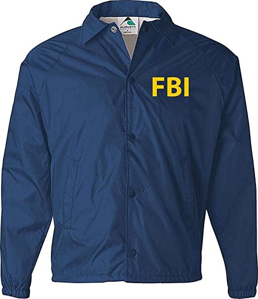 Amazon Com Fbi Jacket Government Agent Secret Service Police Burt Macklin Costume Cia Jacket Navy Cloth Windbreaker Jacket Jackets Mens Shearling Jacket