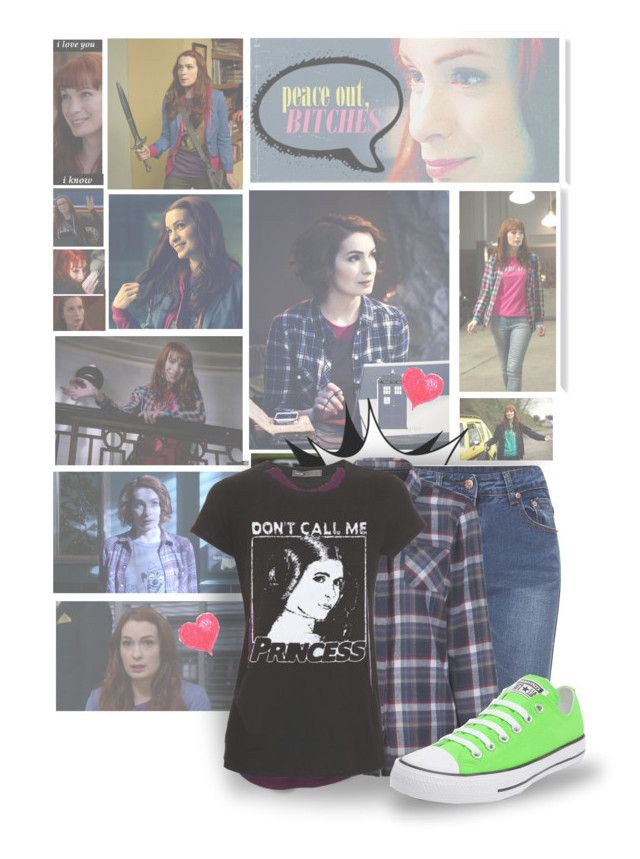 """""""Charlie"""" by nowheregirl17 ❤ liked on Polyvore featuring POLICE, Brakeburn, Vince, Converse and supernatural"""