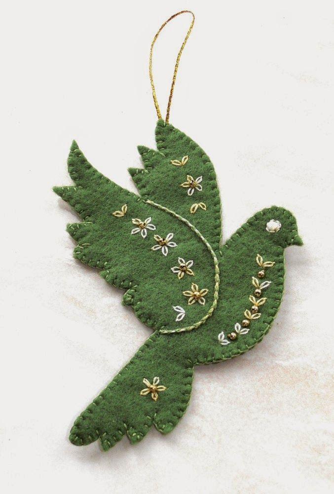 Felt Christmas Decorations Patterns Free.Val Laird Free Patterns For Christmas Wool Felt Felt