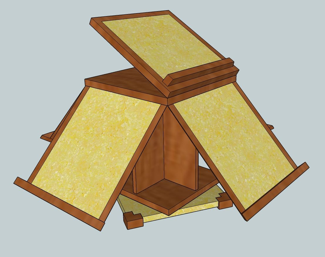 Thomas Jefferson Revolving Book Stand Custom Furniture And Cabinetry In Boise Idaho By J Alexander Fine Woodworkin Woodworking Fine Woodworking Book Stands