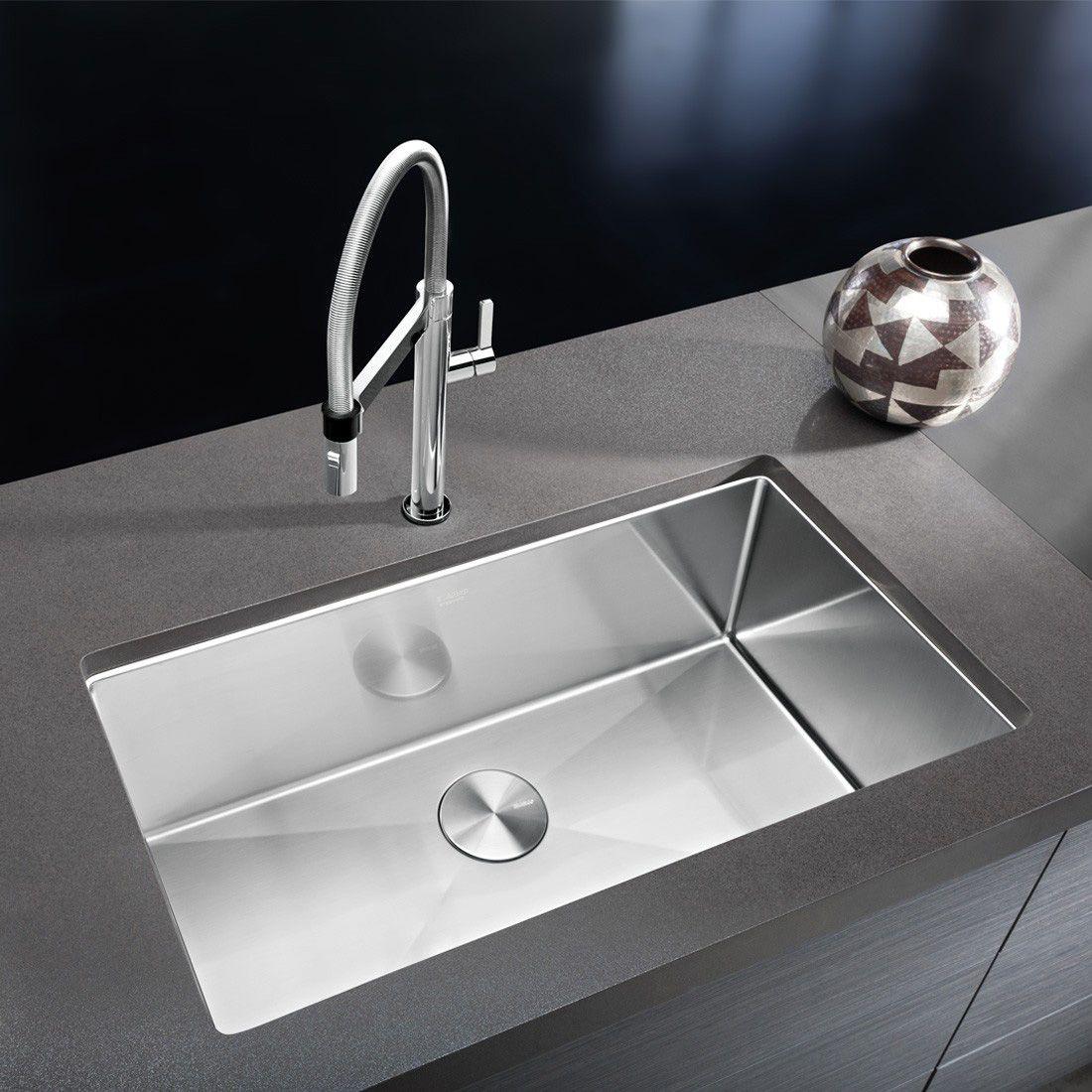 Stainless Steel Sinks in the Kitchen | Modern kitchen sinks, Sinks ...