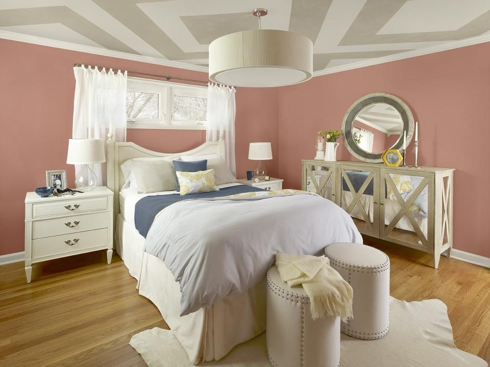 latest colour trends for bedrooms