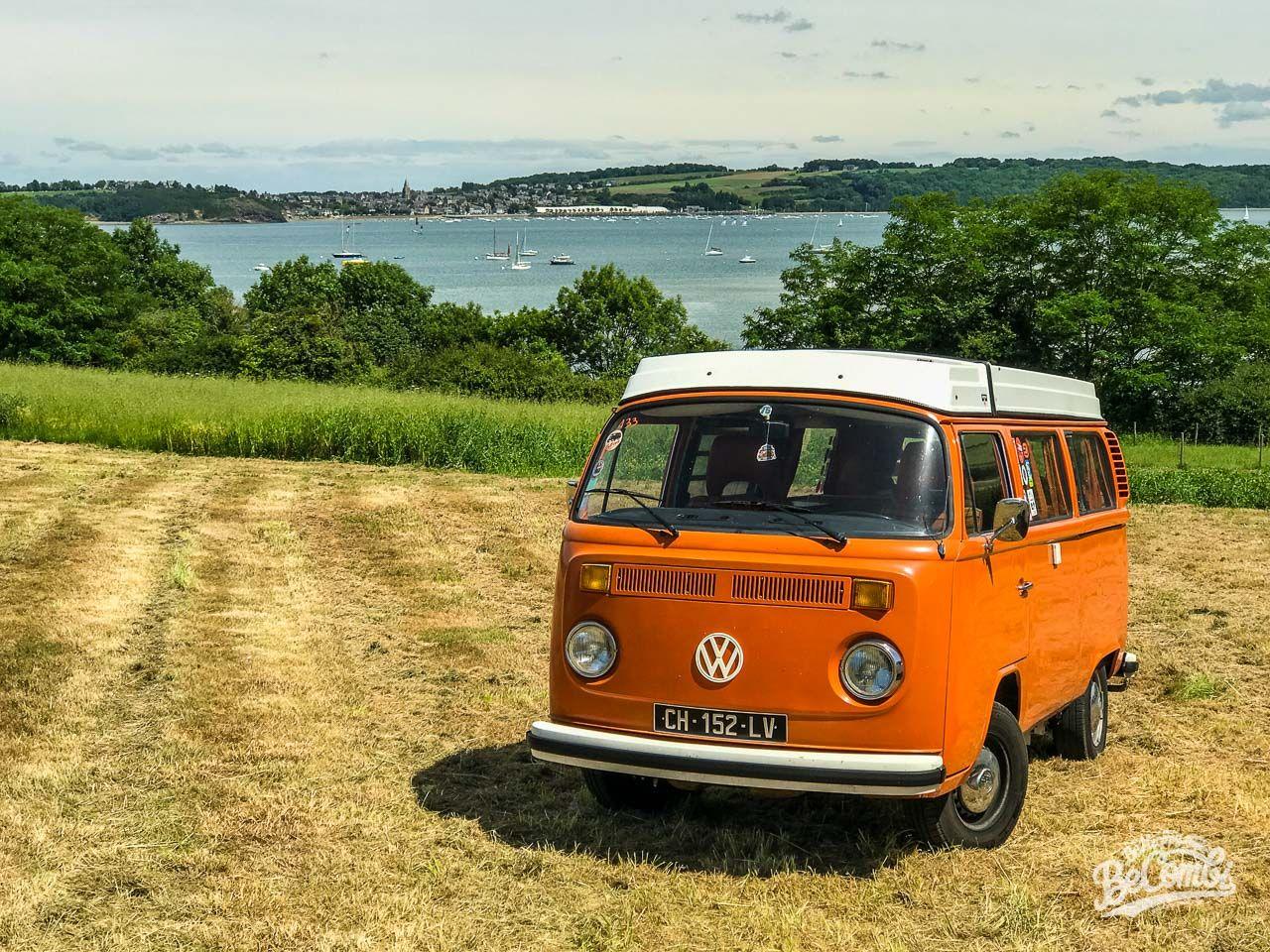 Premières sorties bretonnes en VW Combi | Van vw, Combi