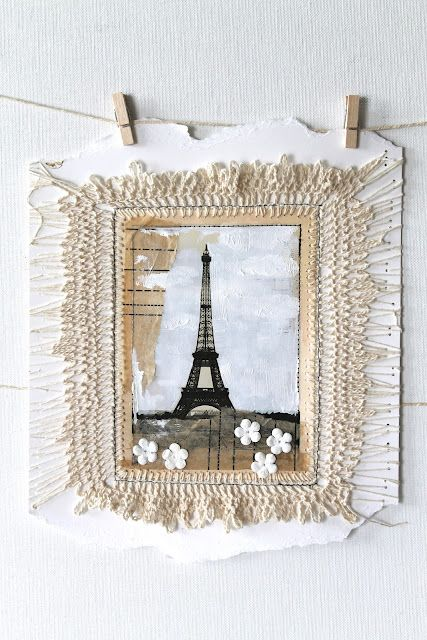 crochet on paper...creative carmelina <3