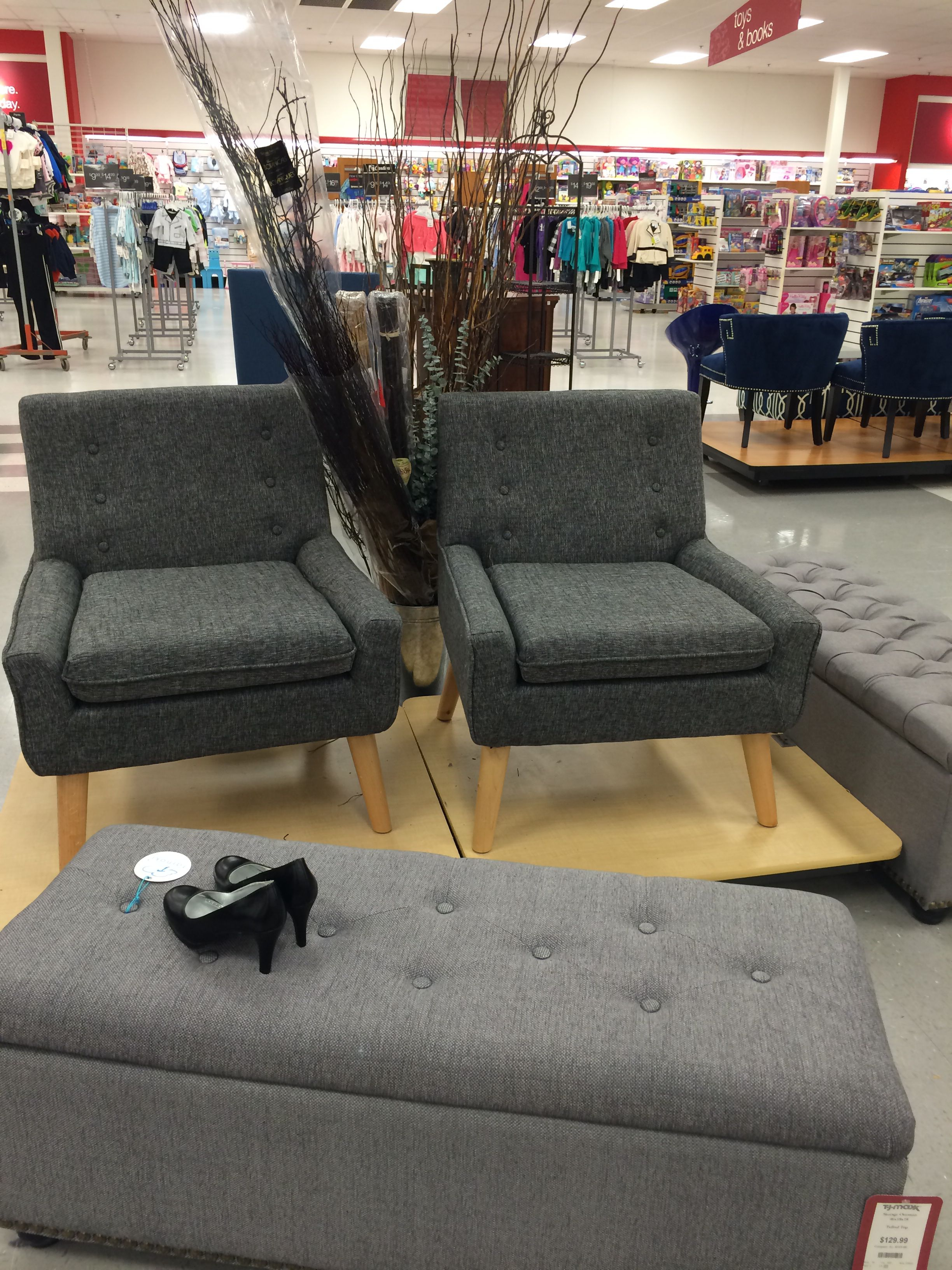 Chairs And Ottoman At Tj Maxx In Alsip Illinois For Our Home